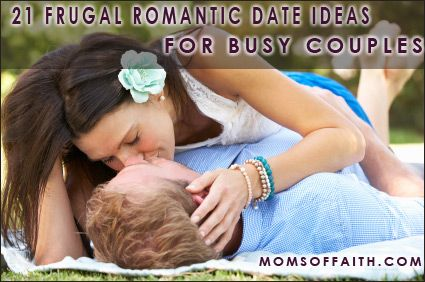 21 Frugal Romantic Date Ideas For Busy Couples #tips #frugal #datenight-There's no such thing as being too busy. Make and schedule time for the person you love while you still have the ability to! Time goes by far too fast and waiting for another time may just be too late! Cherish the time you have!    Some of these are great ideas! Simple yet good!