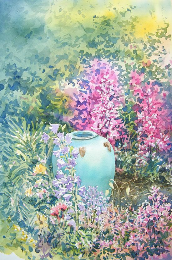 'Vase In The Garden'