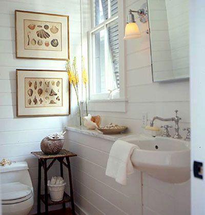 beach cottage bath