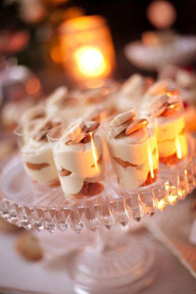 Individual Banana Pudding Cups