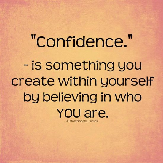 Quote about Confidence...  #quote #quotes #pinterest #mad4clips #inspire #inspirational #inspiration #ambition #excellence #confidence