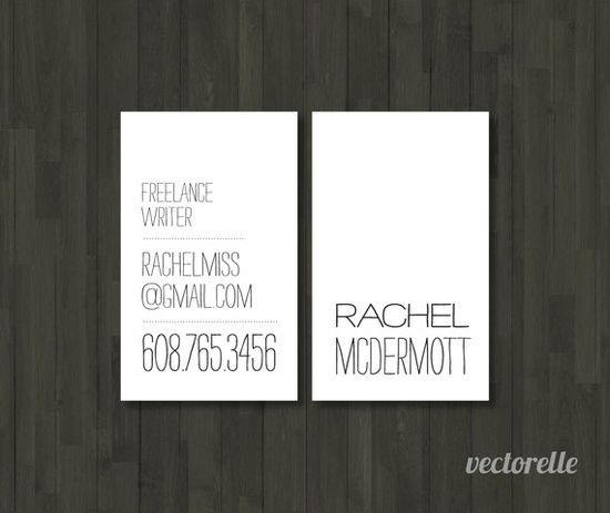 Business cards - personal