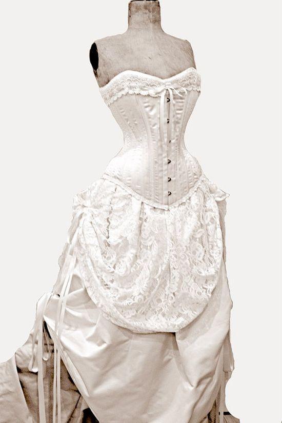 Alternative Wedding Dress by LaBelleFairy on Etsy, $1900.00