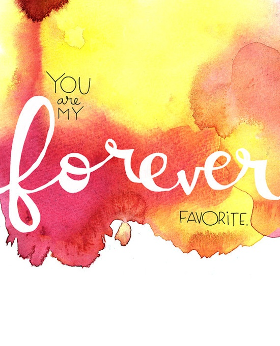 love the colors, letters (by Elissa Hudson)