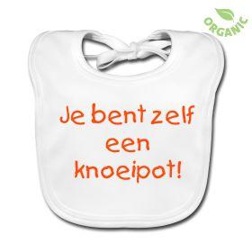 Slabbetje - Je bent zelf een knoeipot! #kinderen #slab #baby #knoeipot #funny #humor
