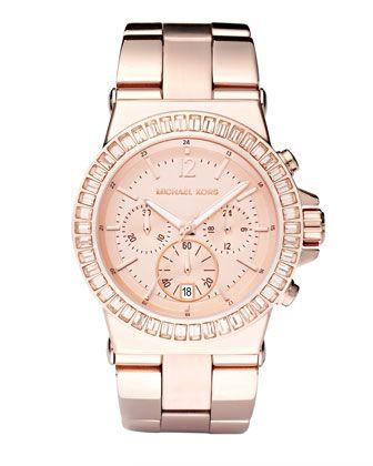Michael Kors Baguette-Bezel Watch