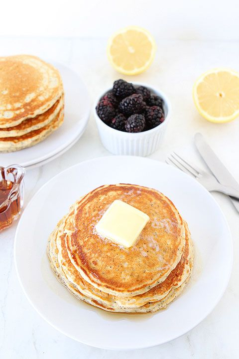 Lemon Poppy Seed Yogurt Pancake Recipe
