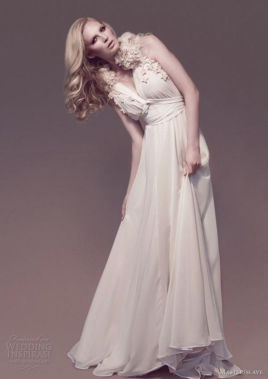 Master/slave Wedding Dresses — Flora Galaxies Bridal Collection