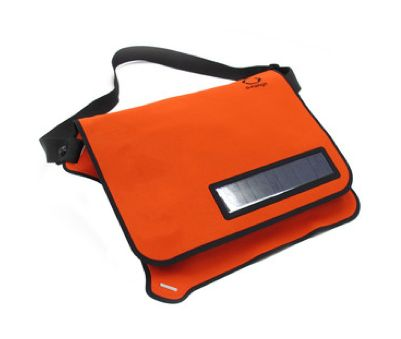 Solar Messenger Bag charges your gadgets using, you guessed it, solar power. Awesome!