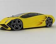 Exotic Sports Car concept