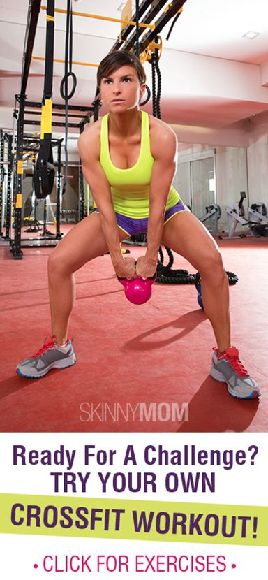 Challenge Yourself With Your Very Own Crossfit Workout!!!