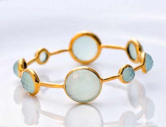 Beautiful seafoam green bracelet