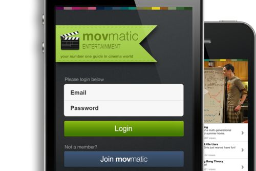 Movmatic for iPhone - UltraUI