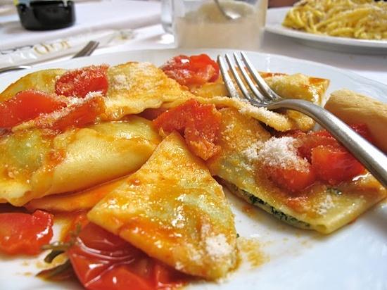 handmade ravioli... in rome
