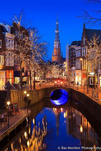 Lights of Ljouwert - Leeuwarden, The Netherlands  #Beautiful #Places #Photography