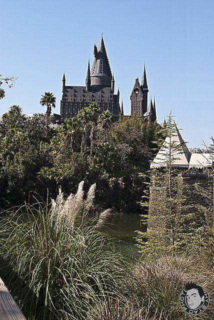 Hogwarts castle universal studios orlando
