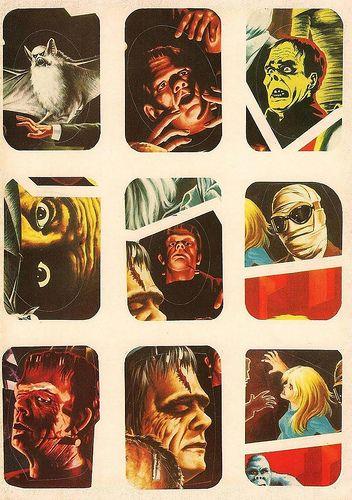 Horror Movie Stickers - 9