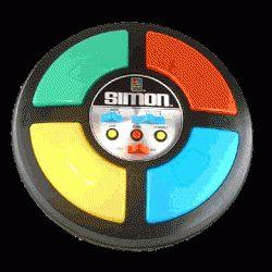 Simon 80's toys
