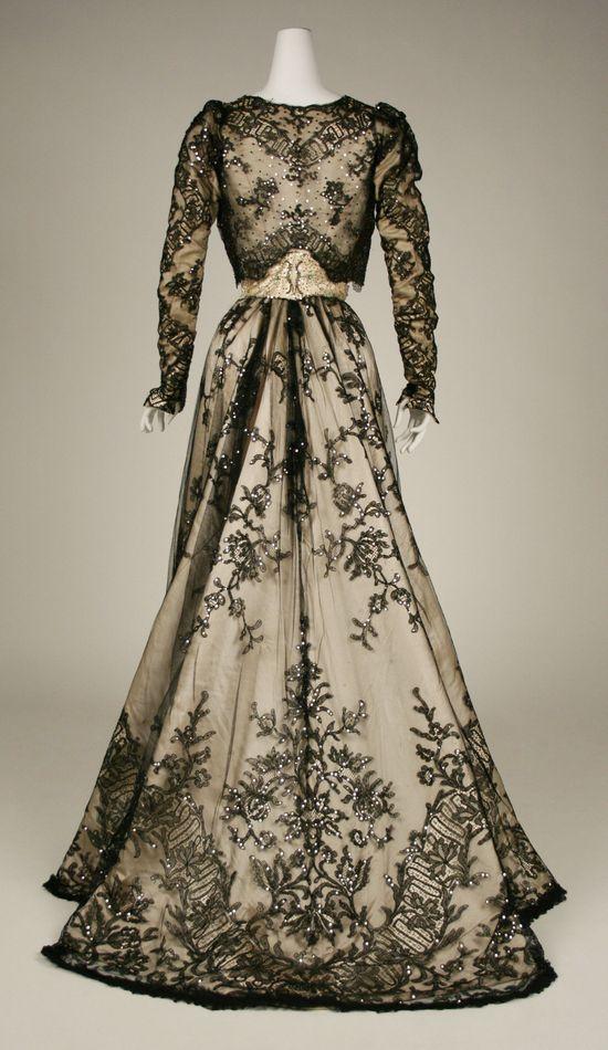 Evening Dress 1898-99