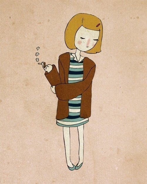 Margot Illustration by NanLawson