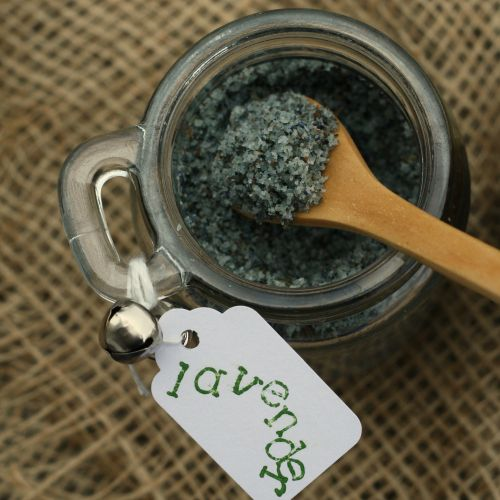 Do-it-yourself flavored sea salts to give as gifts this holiday season.