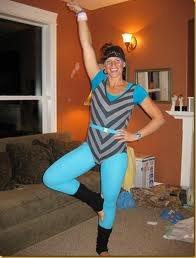 Rad costume. Hot model