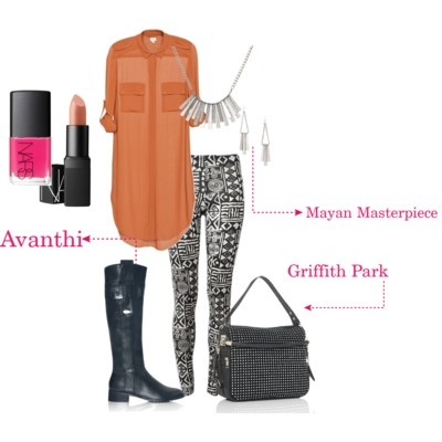 Avanthi knee-high boot #shoes