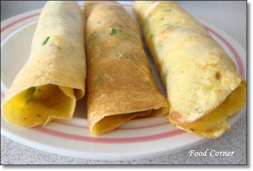 Food Corner: Savory Pancakes