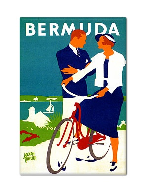 Vintage #travel poster from #Bermuda. #graphictravels