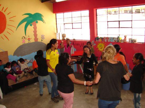 Volunteer Abroad Lizenia Pazmin Guatemala Quetzaltenango Health Care and Children's Program 3 weeks September 26 to October 15 , 2013