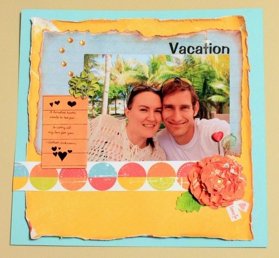 Vacation - Scrapbook.com