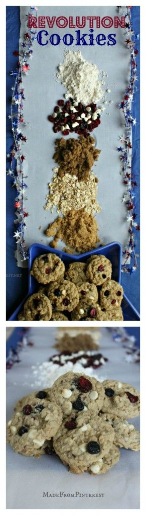 Revolution Cookies Recipe! -- These cookies are full of flavor, tender and chewy! #cookie #recipes