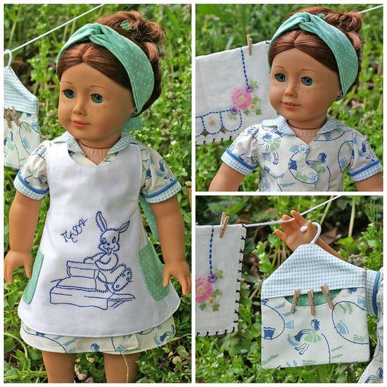 American Girl Doll - laundry set