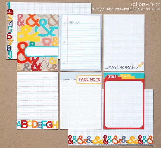 Take Note Journaling Cards