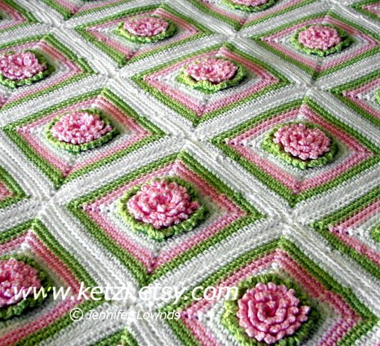 Crochet Baby Blanket Patterns On Etsy : Cute Blankets: Crochet Pattern Baby Blanket Rug with ...