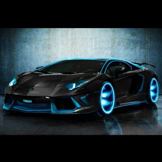 One of my favourite Lambo's- The amazing Tron themed Aventador!