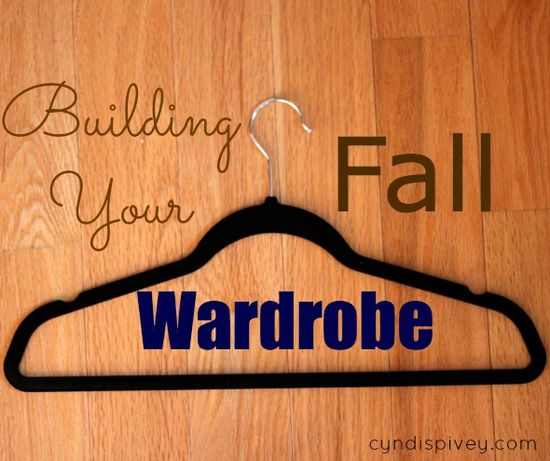 Building Your Fall Wardrobe