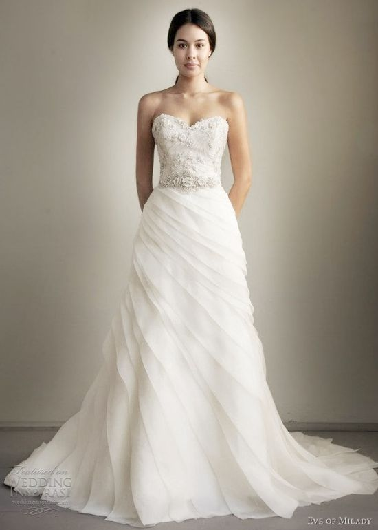 Eve of Milady Spring 2013 Wedding Dresses