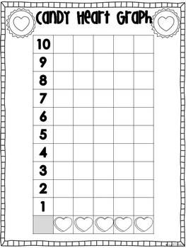 Valentine Hearts Sorting and Graphing freebie