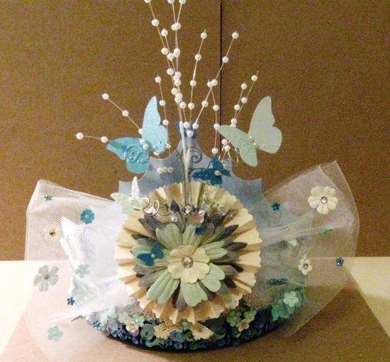 idea for Anna's 'princess' birthday -- paper crown take aways