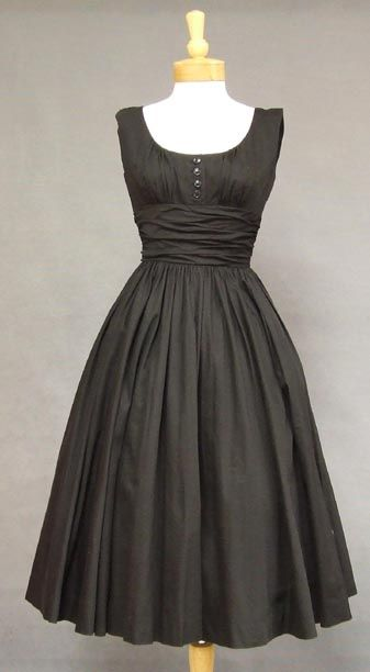 I should be a housewife in the '50s. they had awesome dresses.