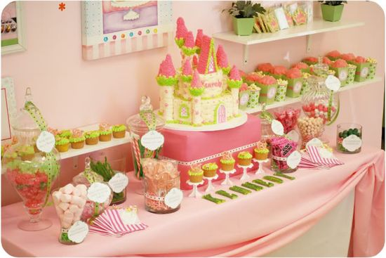 Princess party... carriage chocolate lollipops