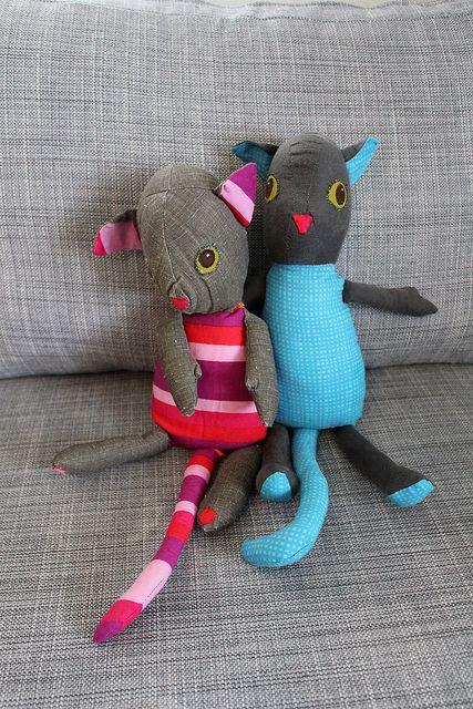 diy stuffed animals - idea