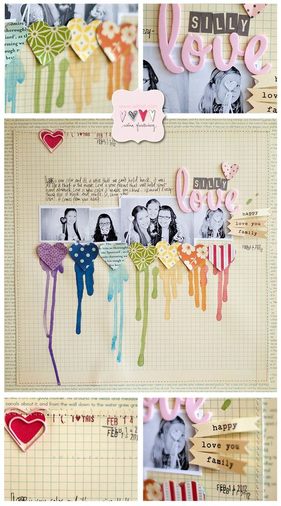 Great Scrapbook Page