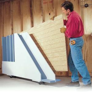 Garage Storage: Wood Storage