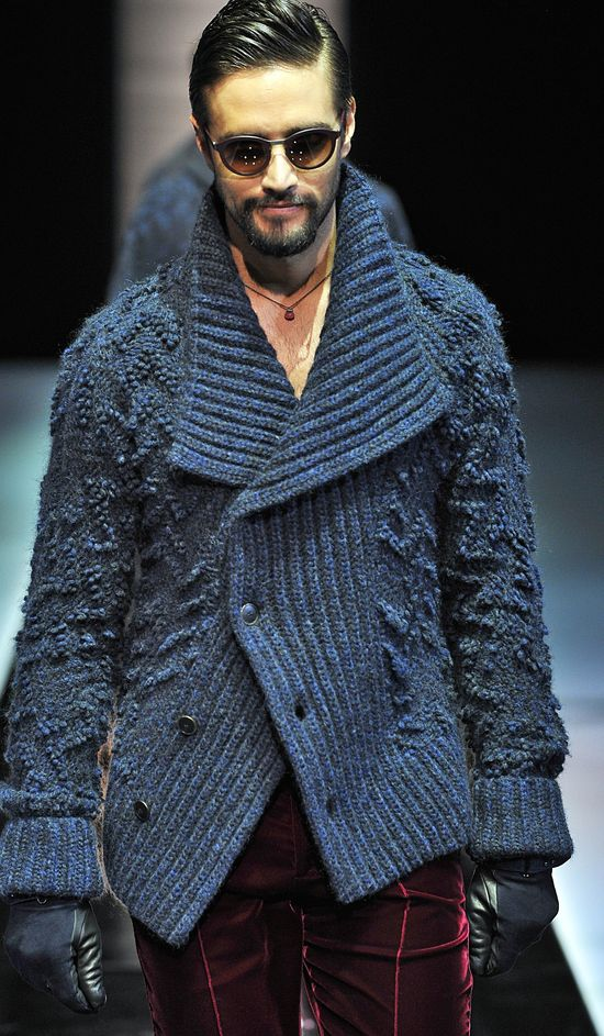 Armani FW13/14 - Milan Mens Fashion Week