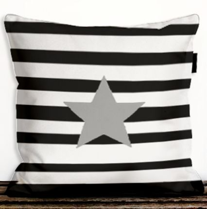 pillow Stripes&Star dettagli home design