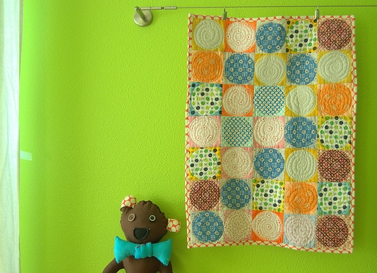 Cuteness. Love this quilt.
