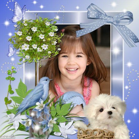 Tess - Cute Baby Blue