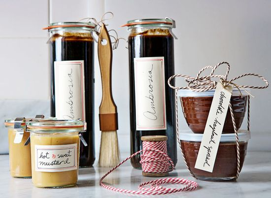 Put a Jar on It / Image via: Bon Appetit #gifts #entertaining
